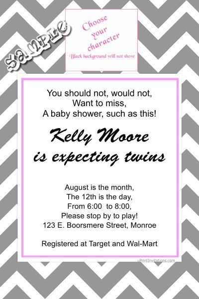 Babyface 140 Baby Shower Invitations - Choose your colors and - create invitations online free no download