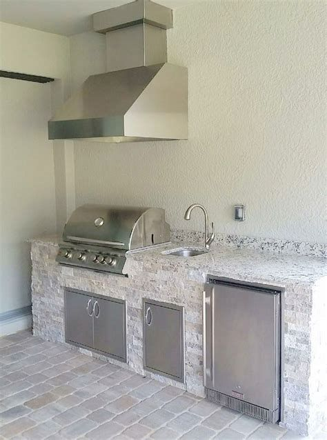 Outdoor Kitchen Ideas Outdoor Kitchen Backsplash Ideas Outdoor