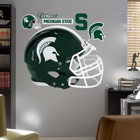 Michigan State Spartans Helmet Need This For Atticus Room