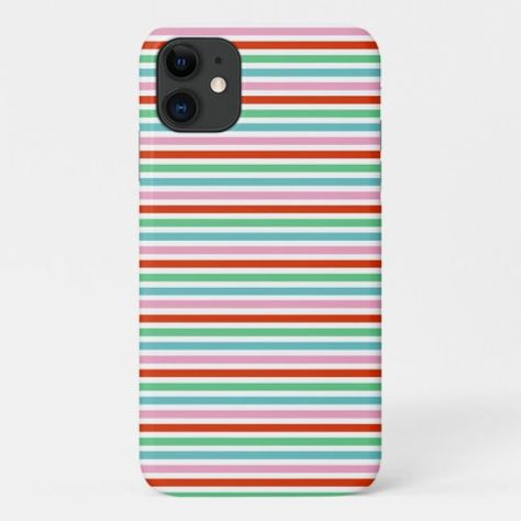 Holiday Stripe | Christmas Cute Candy Scandinavian iPhone 11 Case succulent christmas gifts, female christmas gifts ideas, christmas holiday crafts #christmasgiftsets #colorcompanion #josielewis, back to school, aesthetic wallpaper, y2k fashion
