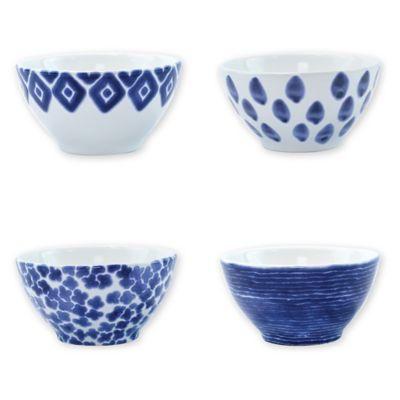 "DANSK china CARIBE BAHAMA BLUE pattern SOUP CEREAL BOWL 6/"""
