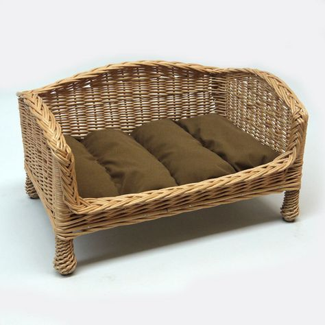 Marvelous Wicker Cat Basket Settee Prestige Wicker Handcrafted Andrewgaddart Wooden Chair Designs For Living Room Andrewgaddartcom