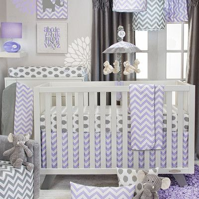 Zoomie Kids Bullington 3 Piece Crib Bedding Set Baby Crib Sets