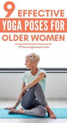 Fitness Del Yoga, Senior Fitness, Health Fitness, Health Yoga, Fitness Tips For Men, Fitness Workout For Women, Fitness Men, Woman Workout, Easy Yoga Poses