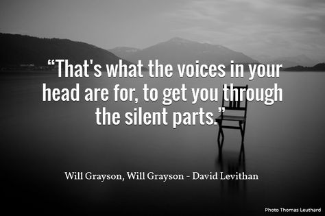 quote from Will Grayson, Will Grayson David Levithan