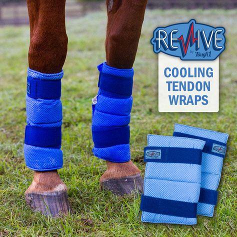 Tough-1 Revive Cooling Tendon Wraps