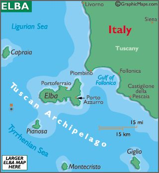 Napoleon Was Exiled To A Small Island Elba Napoleon