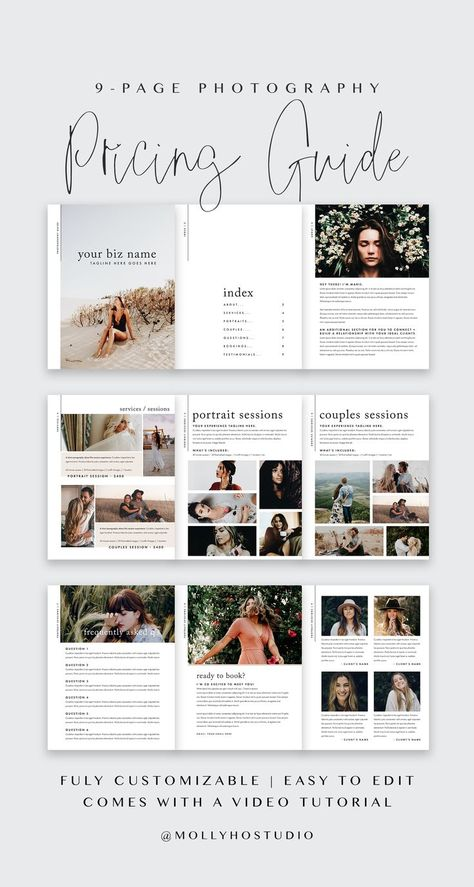 53 Trendy Ideas Photography Wedding Packages Branding