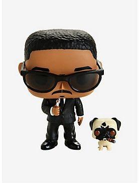 Funko Men In Black Pop Movies Agent J Frank Vinyl Figure