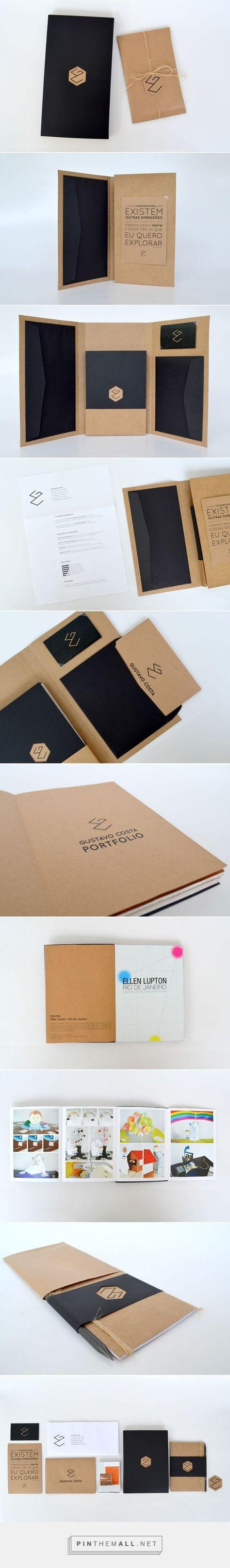 Self Promotion Kit | Gustavo Costa on Behance - created via http://pinthemall.net: