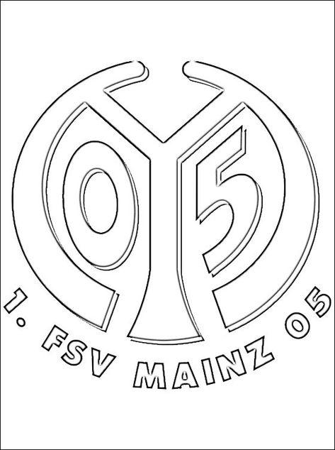 fc bayern münchen logo ausmalbilder - malvorlagen