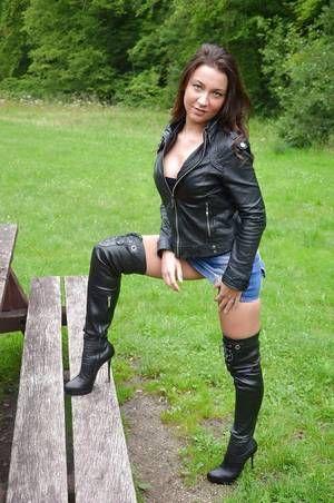 eBay Advertisement) US4.5 12.5 Evening Party Ladies Knee