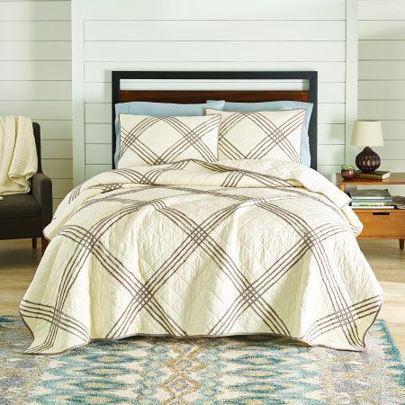 3874beed4d48dc9db3715be0af1d0e57 - Better Homes And Gardens Pleated Diamond Quilt Collection