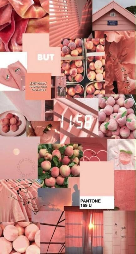 Makeup Wallpaper Quotes Iphone Wallpapers 17 Ideas Aesthetic Wallpapers Peach Wallpaper Iphone Wallpaper Vintage
