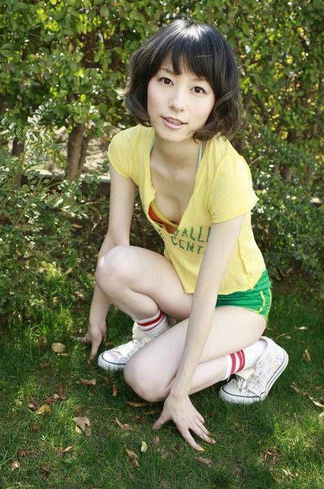 Tシャツが小さい宮島咲良