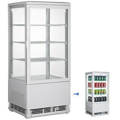 Ad Ebay Url 2 75cu Ft Commercial Display Cabinet Refrigerator Chrome Plated 3 Layer Display Display Refrigerator Locker Storage Glass Display Case