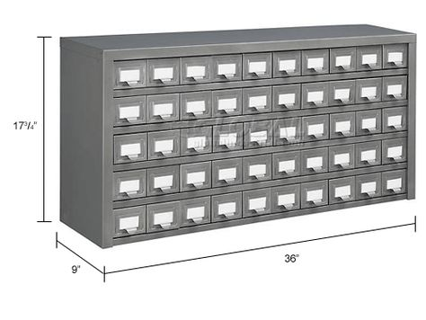 Global 8482 Steel Drawer Cabinet 50 Drawers 36x9x17 3 4 Drawers Ikea Storage Cabinets