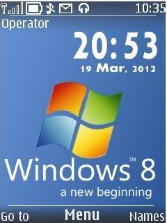 Windows 8 theme for nokia 5130