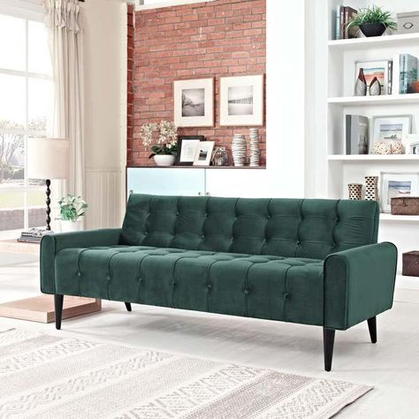 Nottingham Navy Velvet Sofa