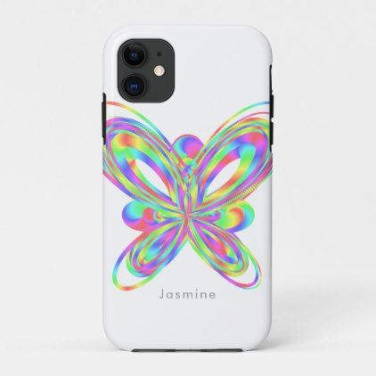 Colorful cool geometric pattern iPhone 11 case