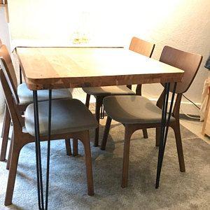 4x Design Natural Goods Berlin Hairpin Legs New Era Etsy Design Dining Table Home Decor