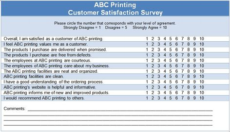 Customer Satisfaction Survey Questions Examples Free  BesikEightyCo