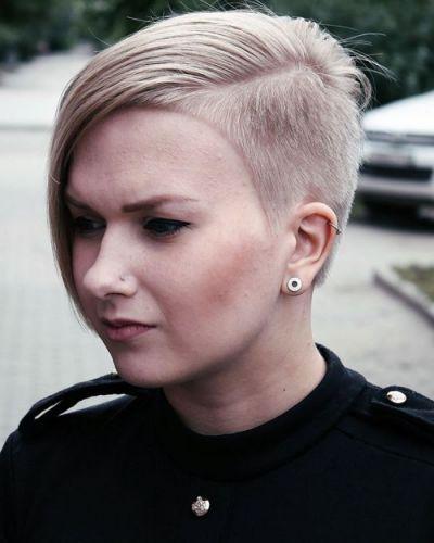 Feminine Extreme Short Haircuts Hair In 2019 Haarschnitt Kurz