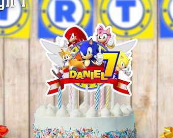 Pin On Cumpleanos De Sonic