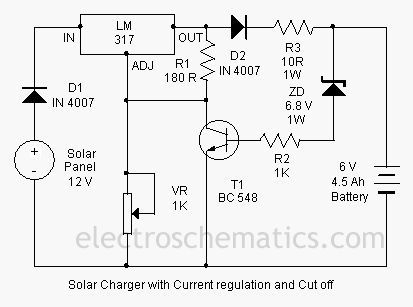 Automatic 12v portable battery charger circuit using lm317 circuit automatic 12v portable battery charger circuit using lm317 circuit diagram circuits and diagram cheapraybanclubmaster Image collections