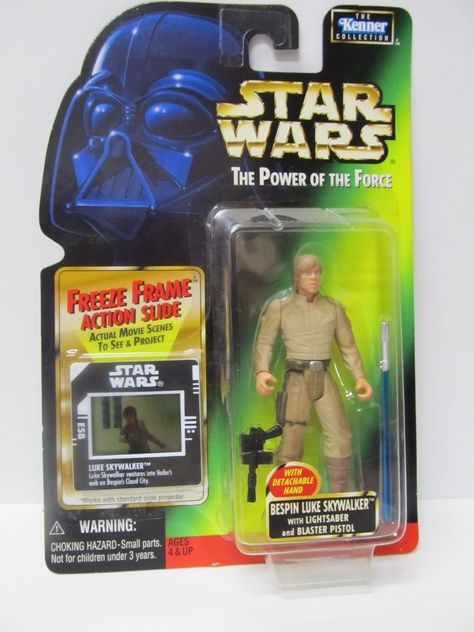 BESPIN LUKE SKYWALKER with DETACHABLE HAND STAR WARS FREEZE FRAME