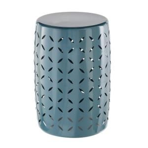 Admirable Metal Garden Stool With Geo Pattern In Charleston Stuff To Pdpeps Interior Chair Design Pdpepsorg