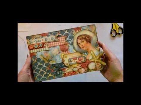 Envelope Mini-Album Tutorial - YouTube