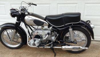 1956 Zundapp Ks 601 El In 2021 Classic Motorcycles Motorcyle Sidecar