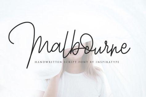 Malbourne (Font) by InspiraType · Creative Fabrica