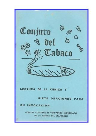 El Conjuro Del Tabaco Magic Book Crystal Healing Chart Book Cover