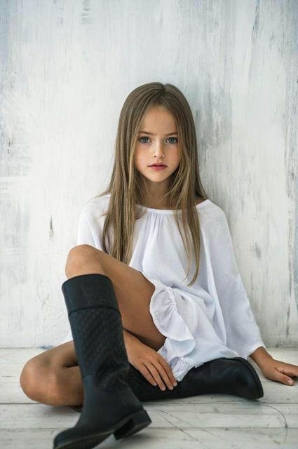 The Youngest Super Model of 2014 – Kristina Pimenova