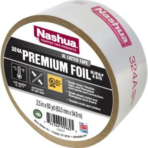 Choose This Premium Foil Ul Listed Hvac Tape From Nashua Tape For Sealing Dryer Vent Connections And Sheet Metal Repairs Tape Nashua Hvac