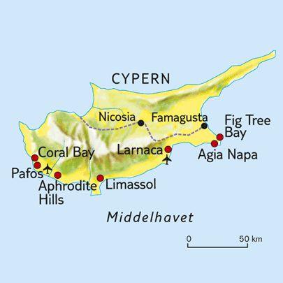 Cypern Resor Och Cyprus