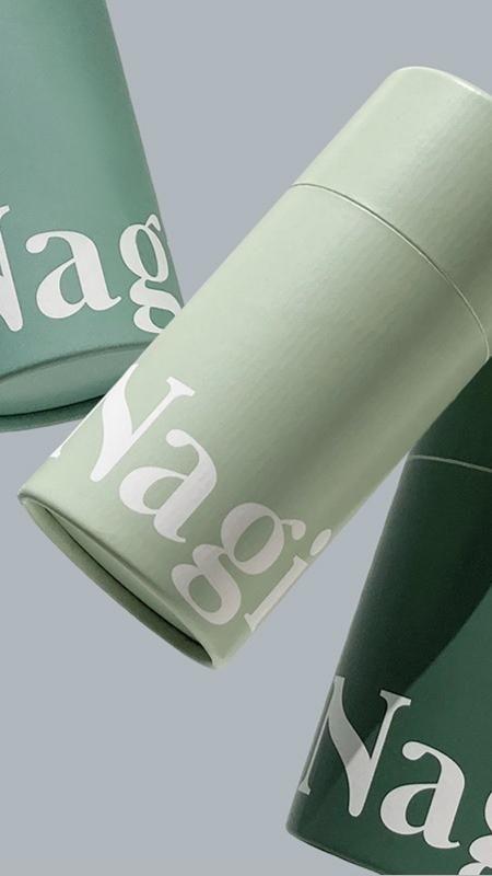 Nagi brand and packaging design by Juri Okita