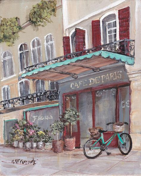 A Street in Paris by Gail McCormack