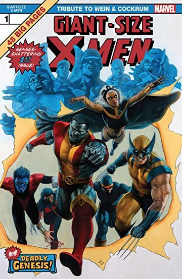 Giant Size X Men Tribute To Wein Cockrum 2020 1 In 2020 X Men Marvel Comic Books Comics