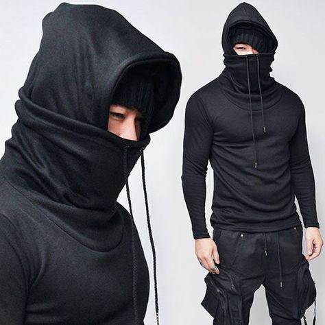 Ninja Hoodie  Price: US $79.99 Size: XS-M Get yours@ www.menstyleshop.tictail.com 👈🏼