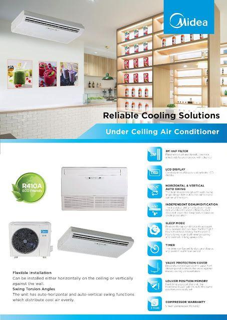 Maximaxsystems Com Midea Split Type Under Ceiling Air Conditioner Ceiling Air Conditioner Air Conditioner Heating Equipment