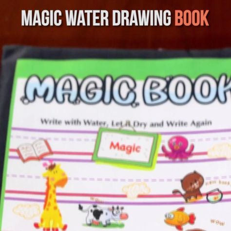 This Magic Water Drawing Book is fun for kids to use during creative time! Just fill the magic pen with water and draw on the white area of mat. Then you can see the colorful images spring up! After few minutes, the images will slowly fade away. Your kids can use the magic mat again and again. When you need to wash the mat, you can wash it by warm water and dry it, but don't rub it! This magic water mat can guide kids to learn more about animal and marine animal.