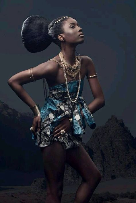 Afrofuturim Tribal Photos & Interrupted Black Identity
