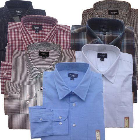6cb29749 15.98 | Haggar Classic-Fit Mens Cotton Casual Comfortable Long Sleeve Dress  Shirt $60