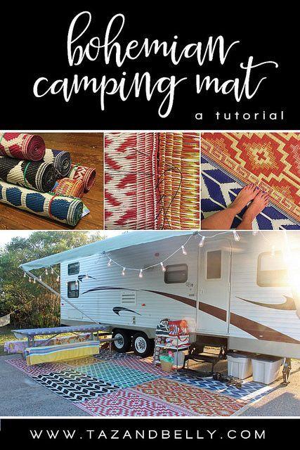 Bohemian Camping Mat Tutorial Camping Mat Diy Camping