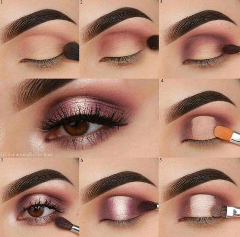 Eye makeup tutorial #smokeyeyemakeupstepbystep #eyemakeupforbeginners