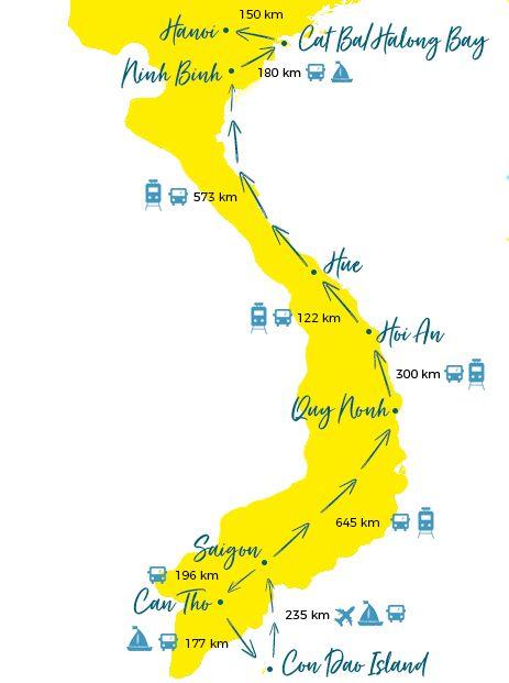 Vietnam Rundreise - Individuelle Reiseroute für 4 Wochen + ...