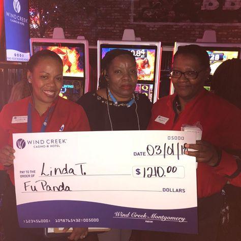 Congratulations To Linda On Winning 1 210 On Fu Panda On March